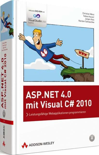 ASP.NET 4.0 mit Visual C# 2010 (Addison-Wesley, 2010)